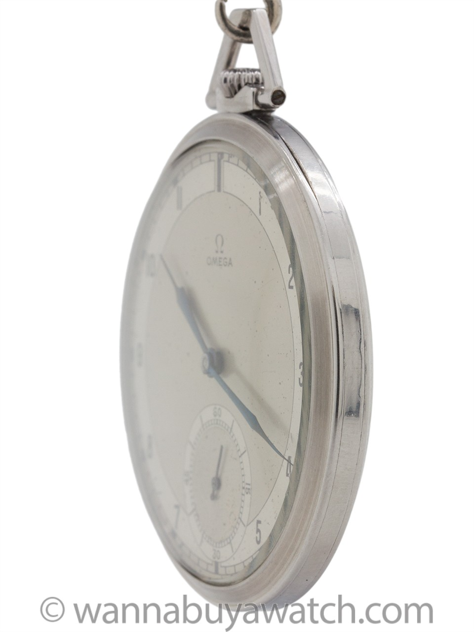 Omega 12-S Industrial Design Pocketwatch circa 1935