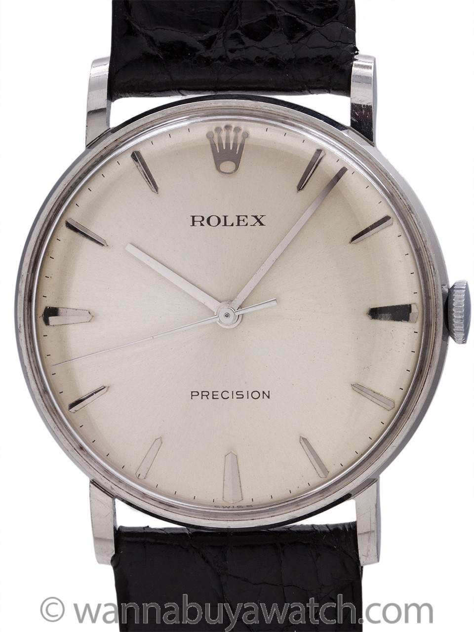 Rolex Precision Dress Model Stainless Steel circa 1960's