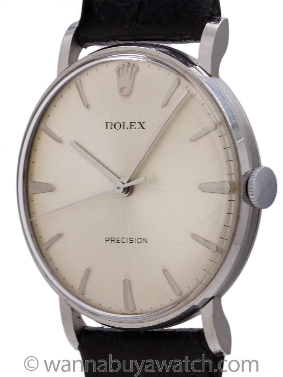 Rolex Precision Dress Model Stainless Steel circa 1960's