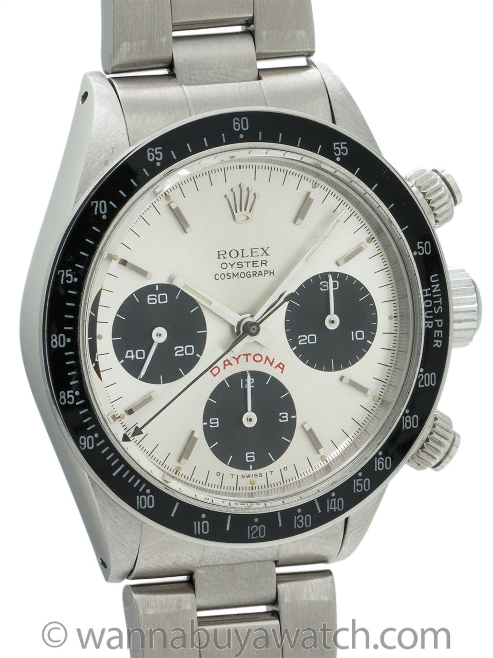 "Rolex Daytona ref 6263 Big Red ""Sigma"" circa 1979"
