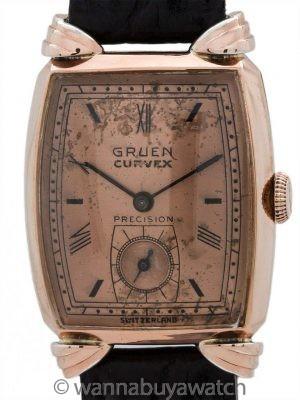 Gruen Veri-Thin PGF circa 1940's