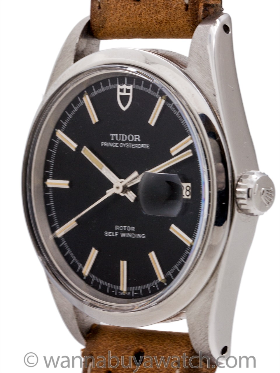 Tudor Prince Oysterdate ref# 90800 Jumbo circa 1978