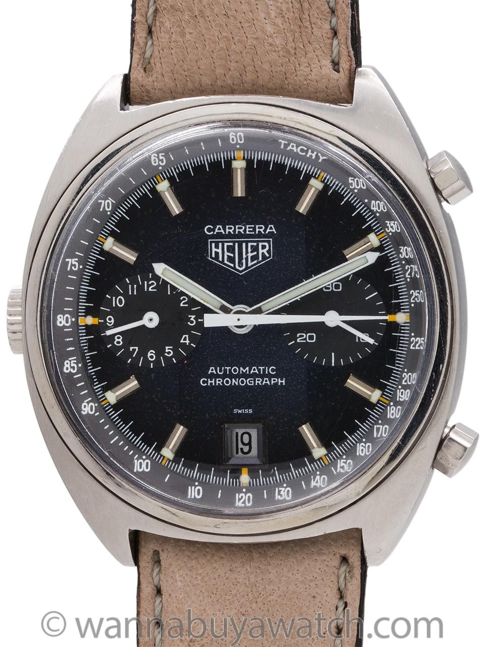 Heuer Carrera ref. 110.253B circa 1970's