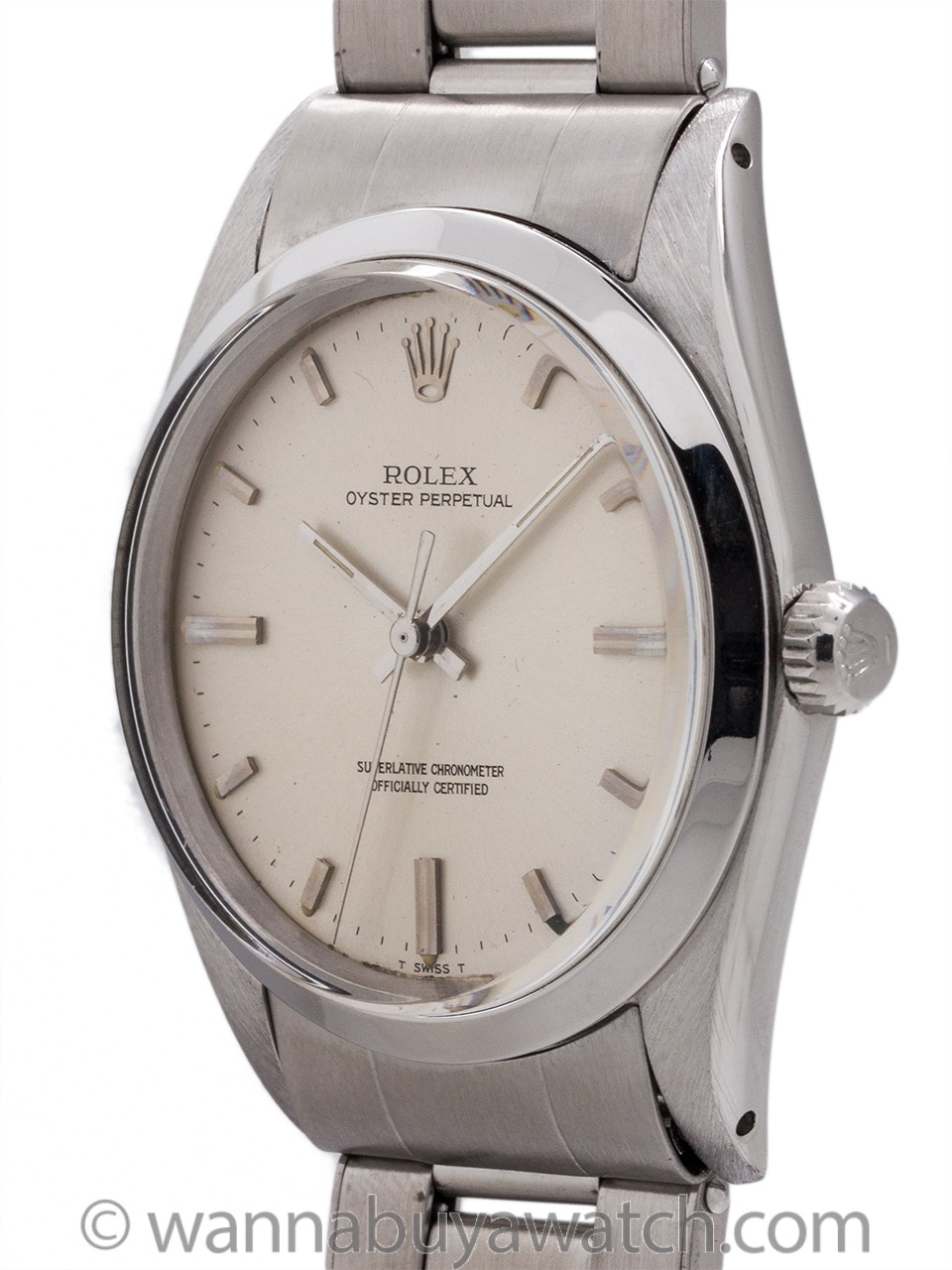 Rolex Oyster Perpetual ref 1018 Stainless Steel circa 1968
