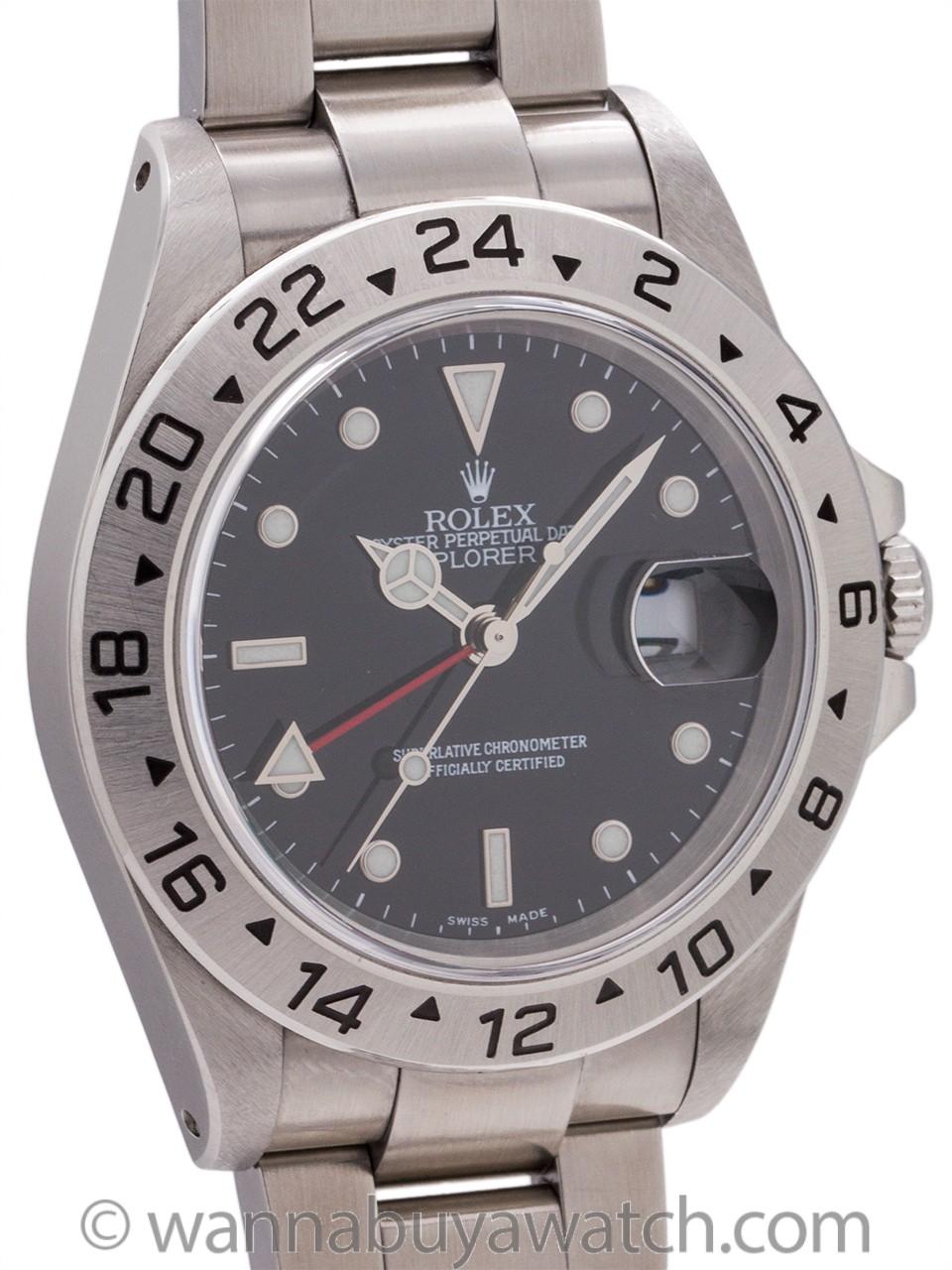 Rolex Explorer II ref 16570 Black Dial circa 2000