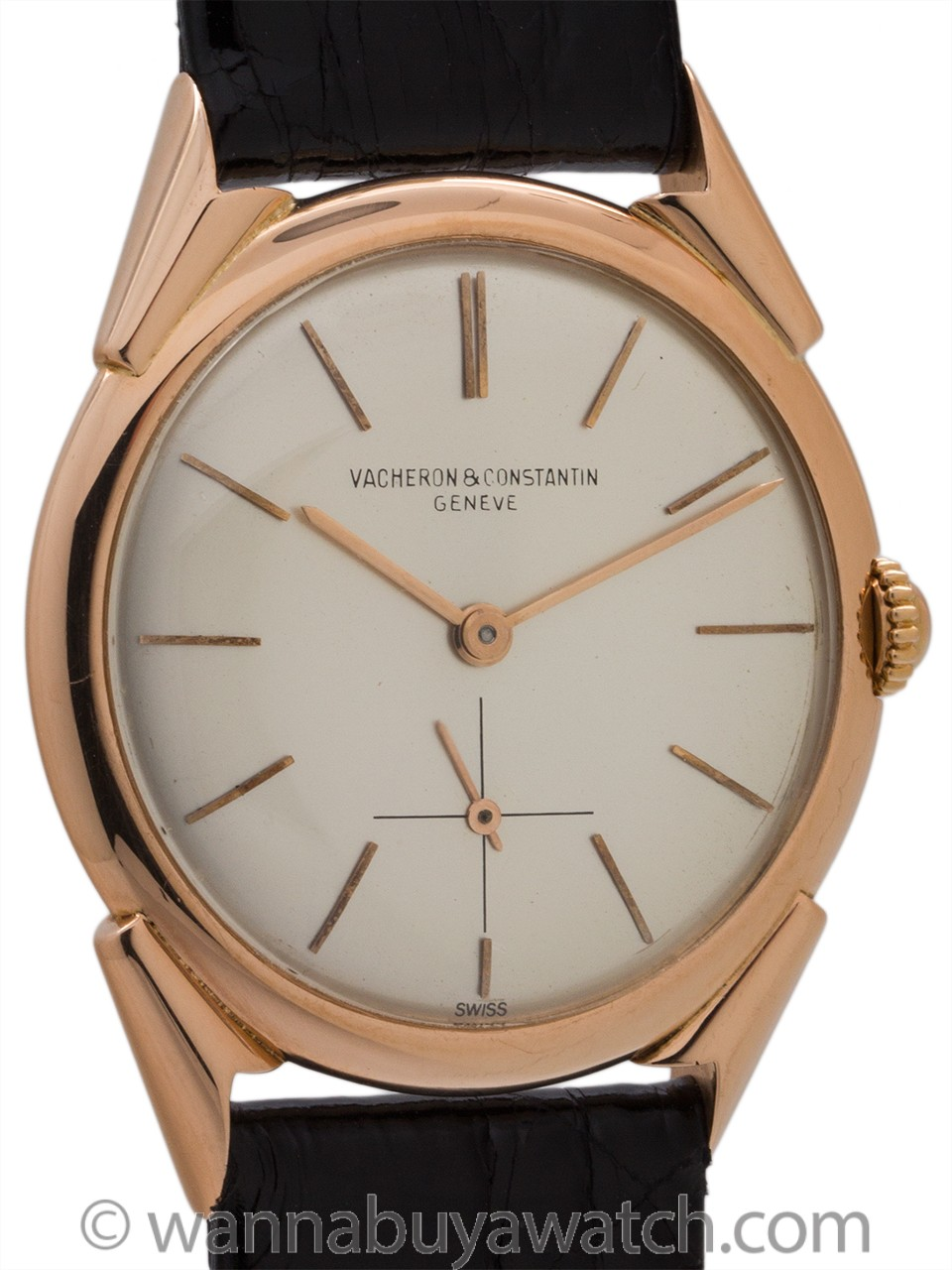 Vacheron and Constantin 18K PG Dress Model circa 1954