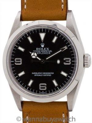 Rolex Explorer 1 ref 14270 Stainless Steel circa 1998