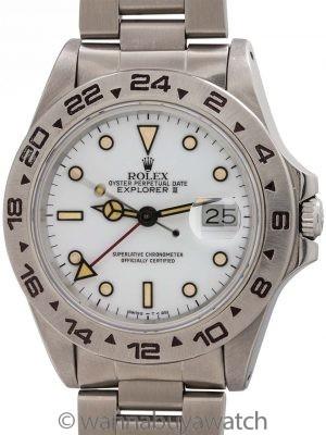 "Rolex Explorer II ref# 16550 ""Polar"" Dial circa 1986"