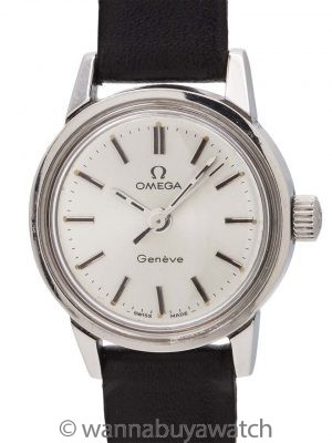 Omega Geneve Lady Stainless Steel circa 1960's