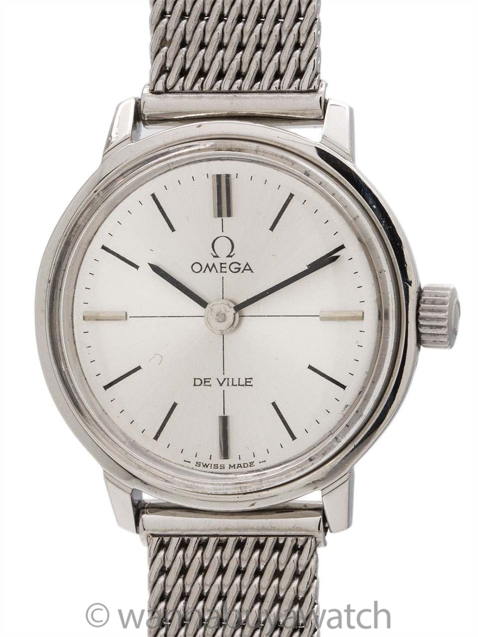 Lady Omega De Ville Stainless Steel circa 1972