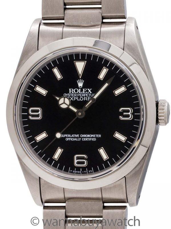 Rolex Explorer 1 ref 14270 Stainless Steel circa 1997