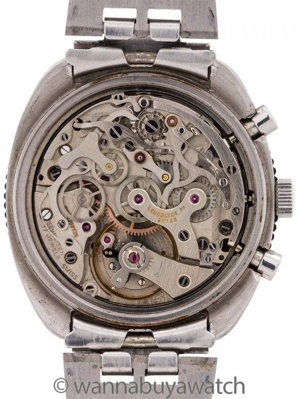 LeCoultre Calculator Chronograph circa 1960's