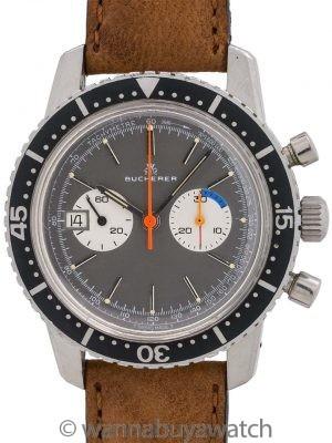 Bucherer Lemania 817 Chronograph circa 1960's