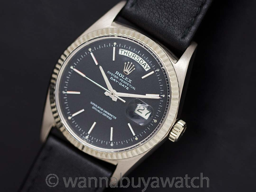 Rolex 18K WG Day Date President ref 1803 circa 1964