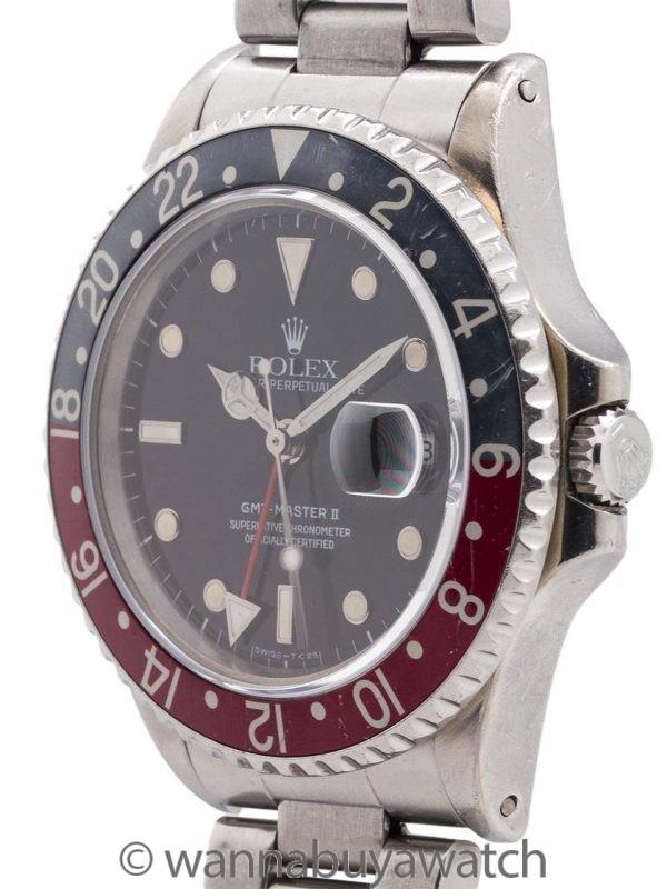"""Rolex GMT II ref 16760 """"Fat Lady"""" circa 1986"""