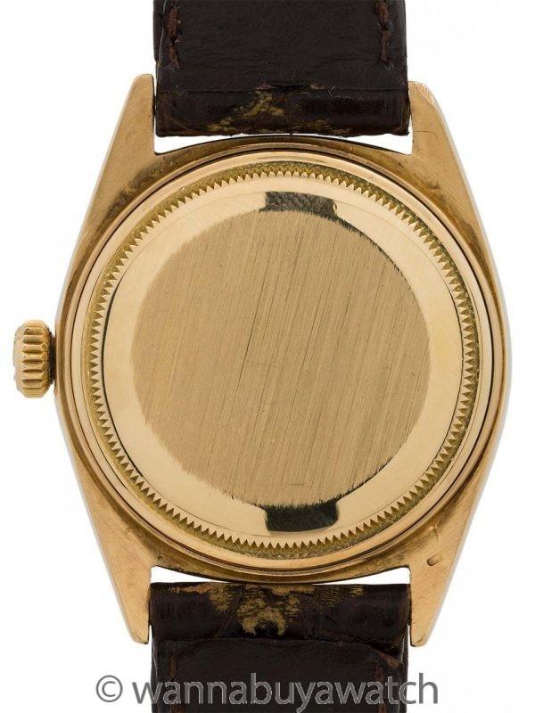 "Rolex 18K YG Day Date ref 1803 ""Tropical Dial"" circa 1962"