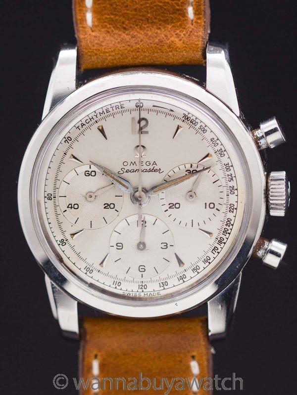 Omega Seamaster Chronograph ref 2907/1 Calibre 321 circa 1958