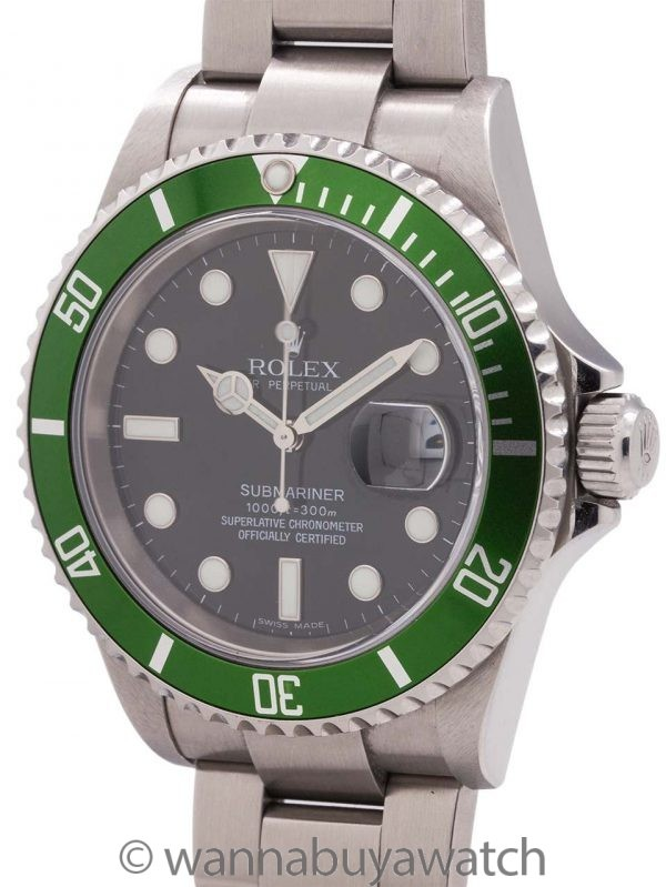 Rolex 50th Anniversary Submariner ref 16610LV circa 2005