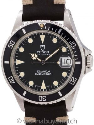 Tudor Submariner ref 75090 36mm circa 1993