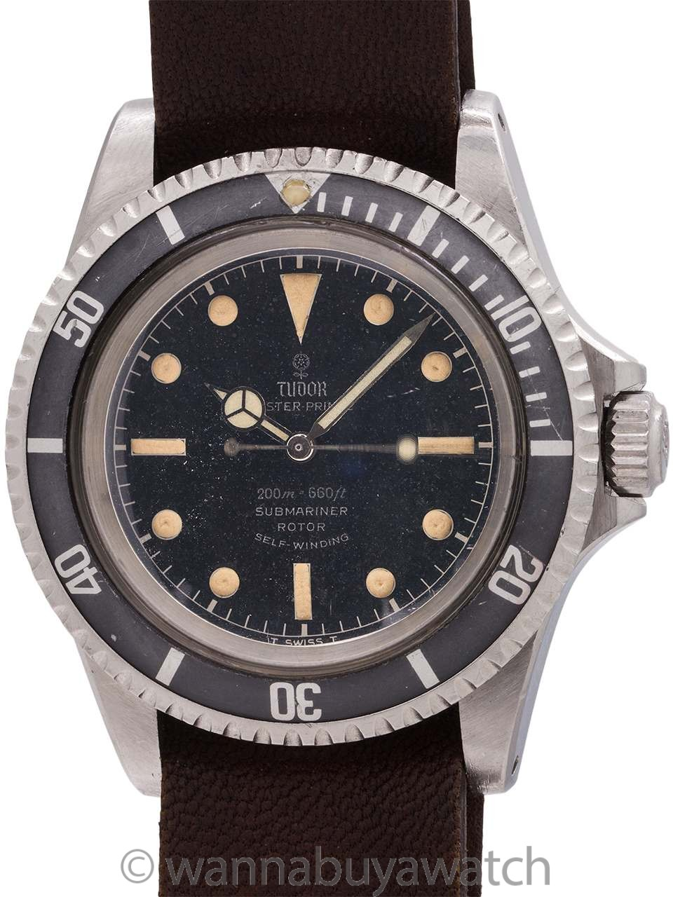 Tudor ref 7928 Submariner Gilt circa 1965 Exceptional!