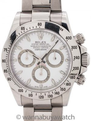 Rolex Daytona ref 116520 circa 2009 Box & Papers