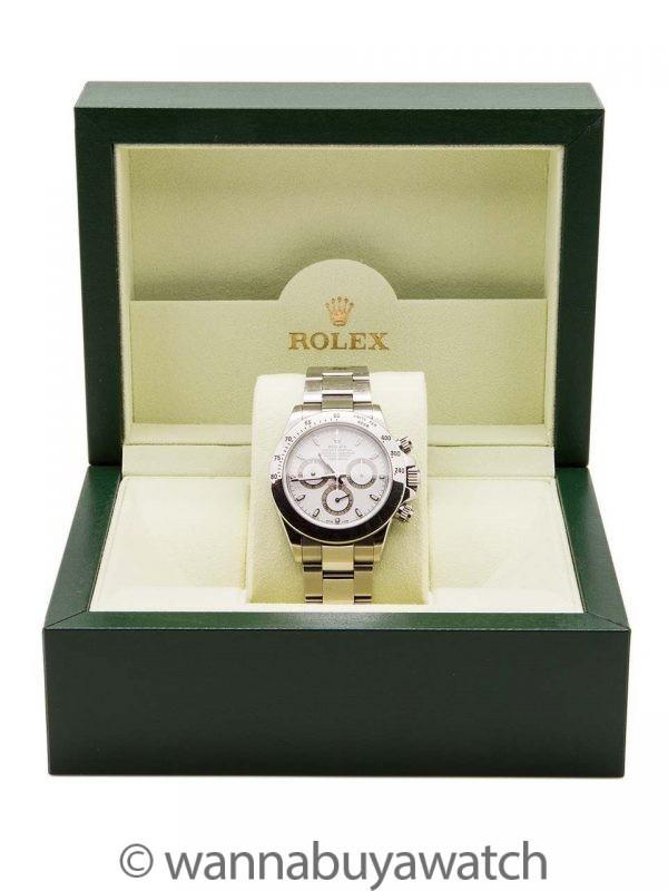 Rolex Daytona ref 116520 circa 2009 Box & Papers