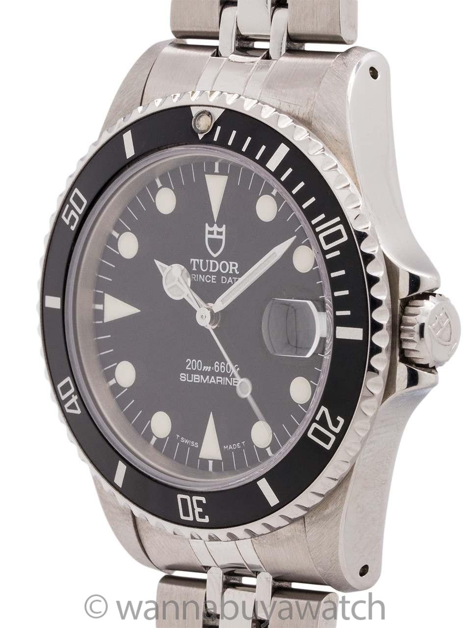 Tudor Submariner ref 75190 circa 1999