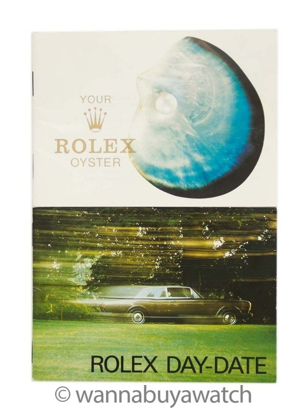 Rolex Day Date President 18K YG ref 18038 circa 1986 Papers