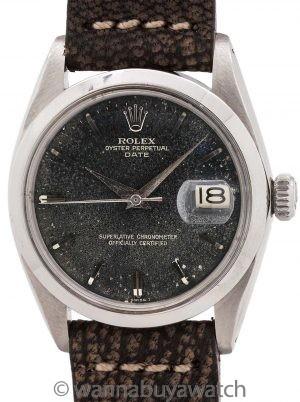 Rolex Oyster Perpetual Date ref 1500 circa 1961