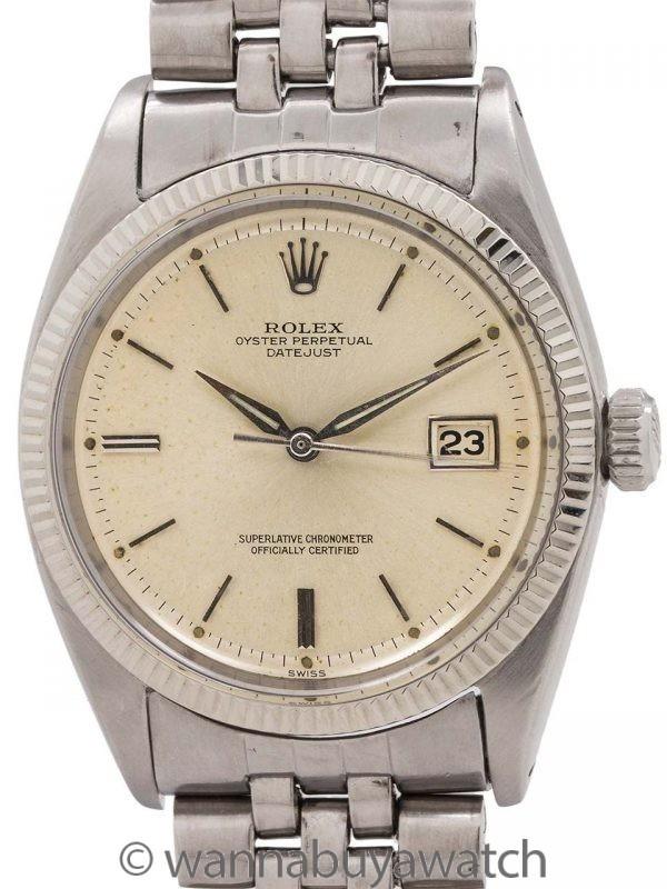 Rolex Datejust ref# 1601 SS/14K WG circa 1961