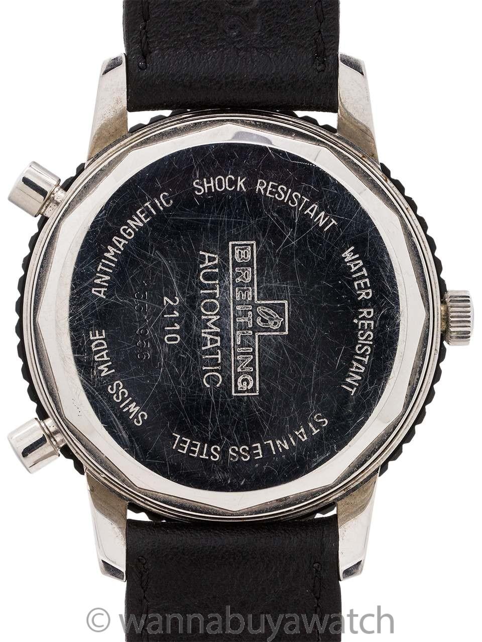 Breitling SS Chronomatic ref 2110 caliber 12 circa 1970