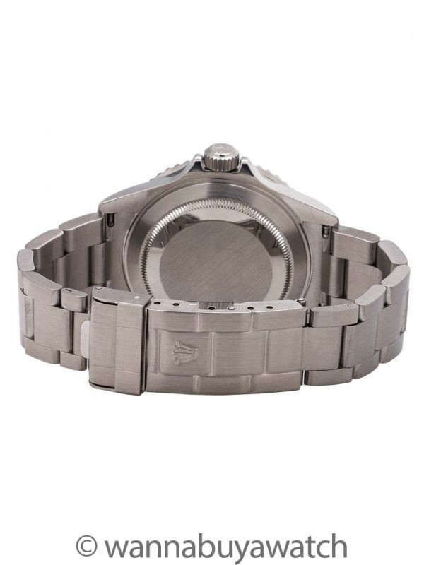 Rolex Submariner ref# 16610 Stainless Steel circa 2005