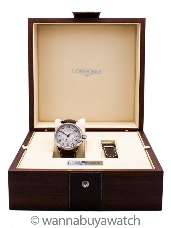 "Longines ""Weems"" Second Setting Navigation circa 2010 Box and Book"