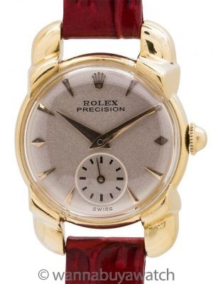 Rolex Lady's 18K YG Precision Dress Model circa 1952