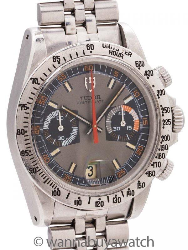 """Tudor """"Monte Carlo"""" Chronograph ref 7159 circa 1972"""