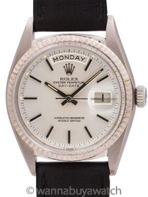 Rolex Day Date President ref 1803 18K WG circa 1967