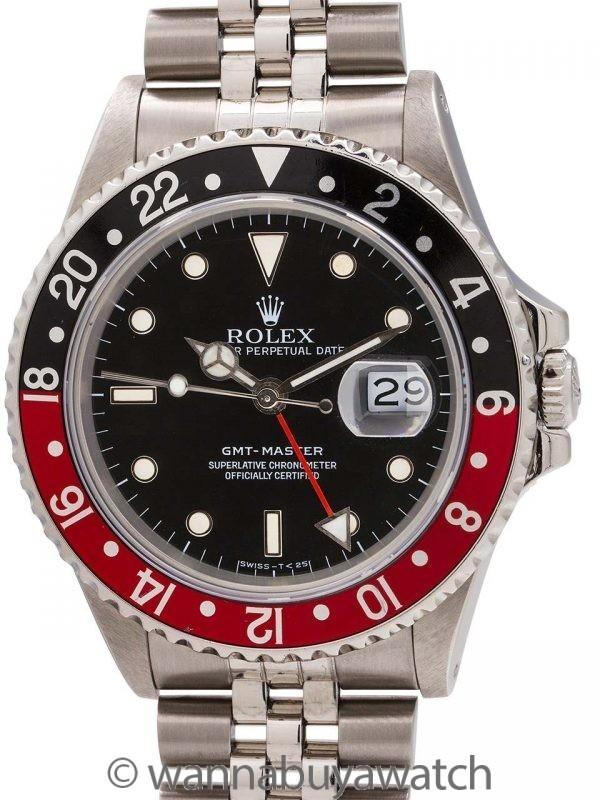Rolex GMT 1 ref 16700 Stainless circa 1987