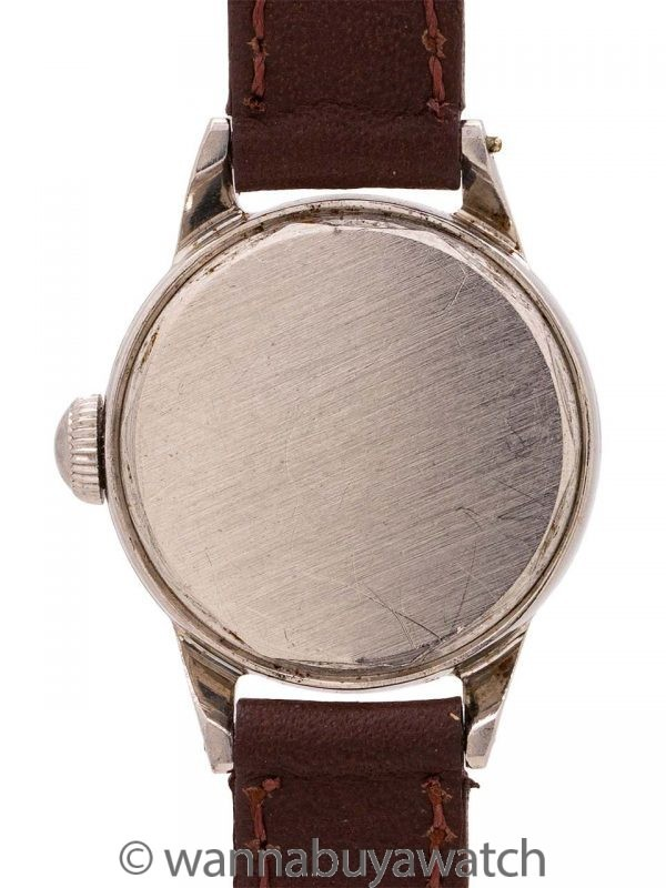 Movado Lady's Stainless Steel circa 1940s