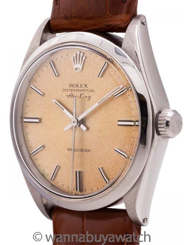 """Rolex Oyster Perpetual ref 5500 """"Tropical Peach"""" Dial circa 1973"""