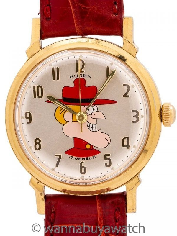 Dudley Do-Right from Rocky & Bullwinkle circa 1960's