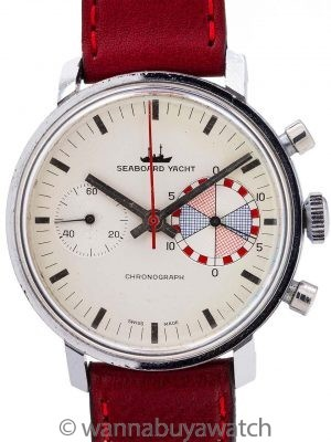 Seaboard Yacht Chronograph circa 1960's 2nd Edition