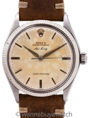 "Rolex Oyster Airking ""Super Precision"" ref 1005 circa 1971"