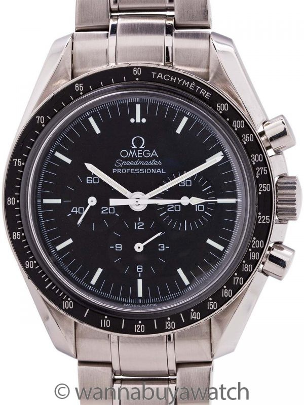 Omega Speedmaster ref. 3572.50 Display Back circa 2000's