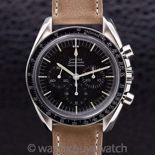 Omega Speedmaster Pre Moon ref# 105.012-65 Buzz Aldrin Model