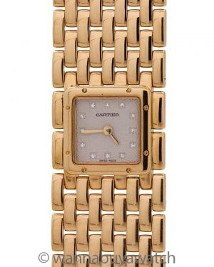 Cartier Lady's Panthere Ruban 18K circa 2000's
