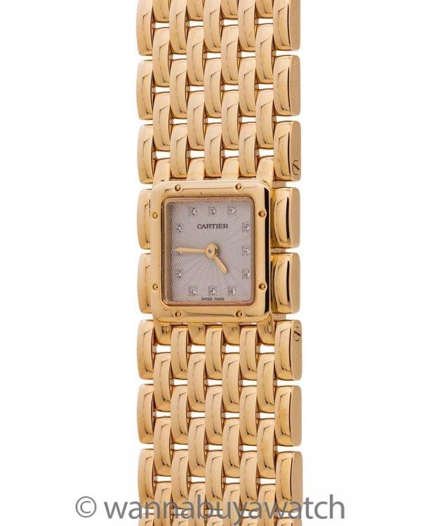 Cartier Lady's Panthere Ruban 18K circa 2000's