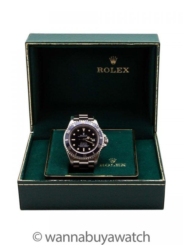 Rolex Seadweller ref 16660 Transitional Tiffany & Co circa 1984