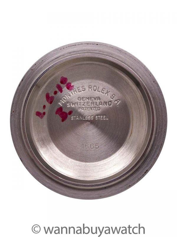"Rolex Seadweller ref 1665 ""Great White"" Rail Dial circa 1978"