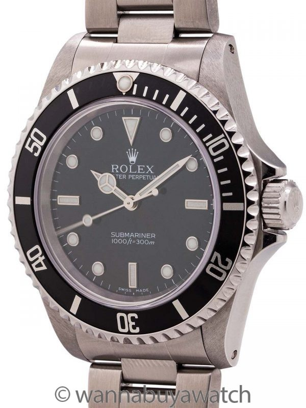Rolex Submariner ref 14060 Stainless Steel circa 2000
