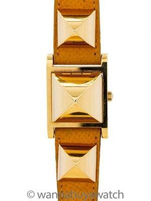 Lady's Hermes YGF Medor Yellow Strap